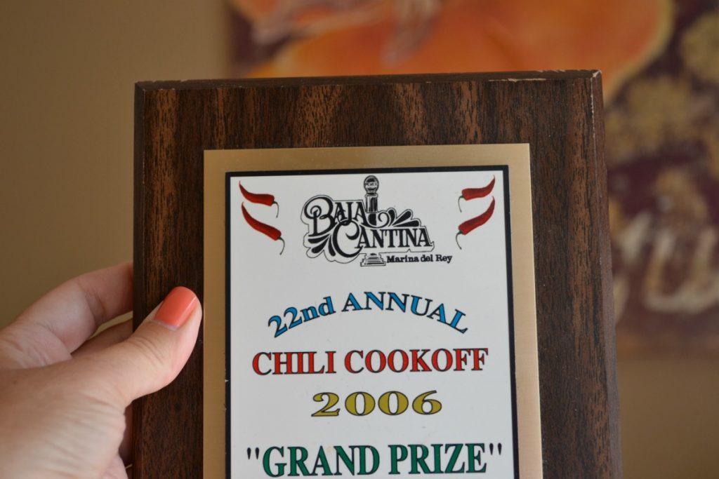 chili award